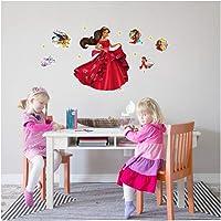 Prenses Elena 35x50 cm Duvar Sticker,Çocuk Odası, Duvar Sticker, Çocuk Odası Süsleme, Bebek Odası, Erkek Çocuk Odası