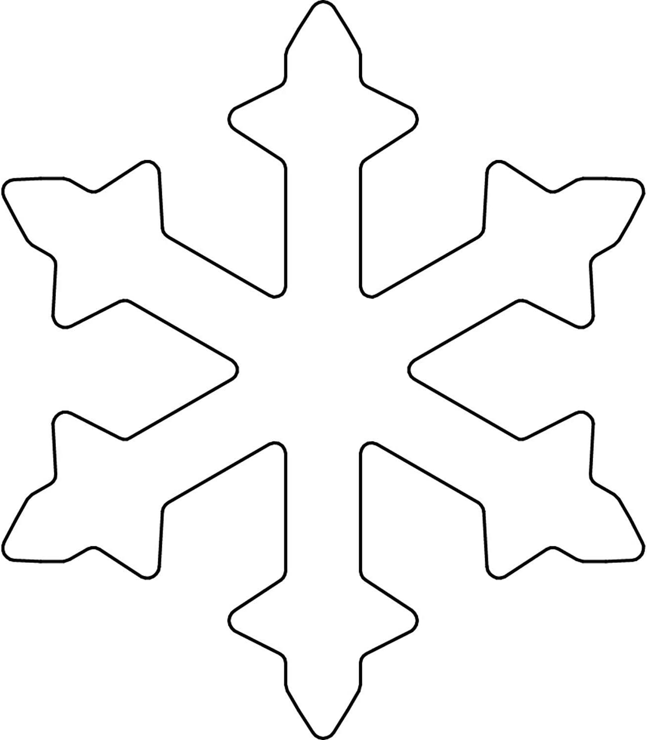 Kaiser Happy Holidays Snowflake Cookie Cutter 6 x 5 x 6 cm Stainless Steel