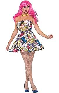 Comic Book Pop Art Katie Kapow Wig