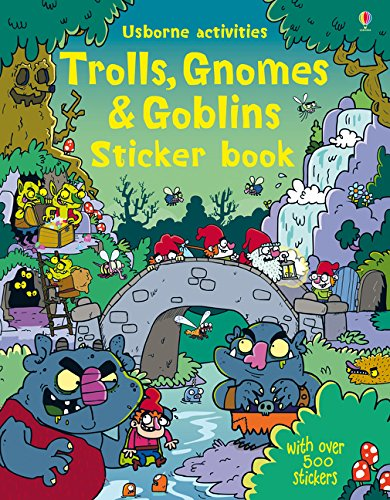 Sticker Gnomes - Trolls, Gnomes & Goblins Sticker Book (Sticker Books)