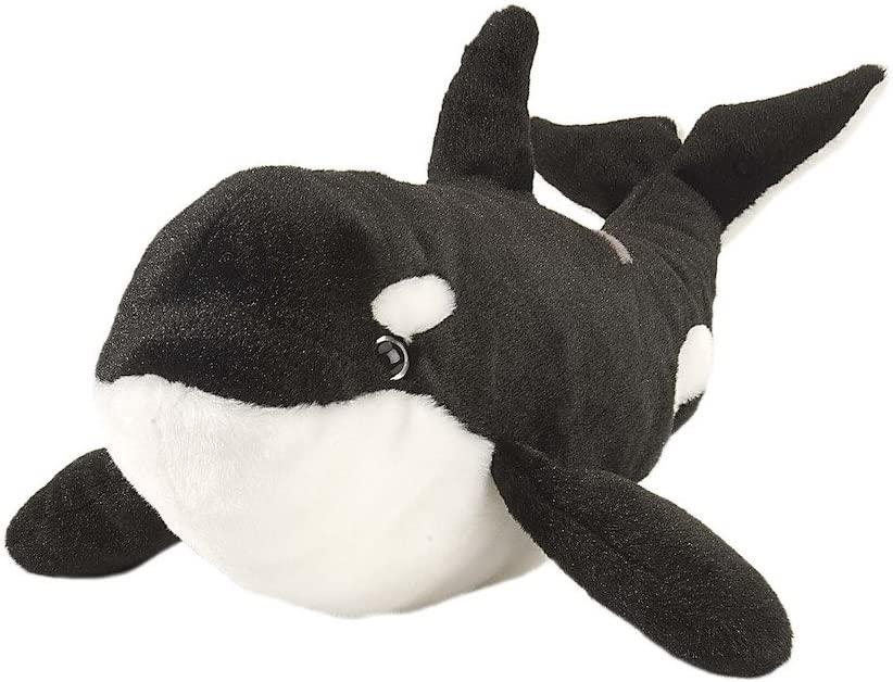 Wild Republic Orca Plush, Stuffed Animal, Plush Toy, Gifts for Kids, Cuddlekins, 20 inches