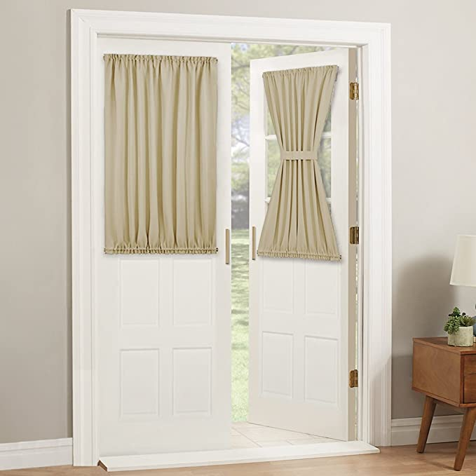 PONY DANCE Glas-Schiebetür Tür Vorhang-Paneele Isoliert ...