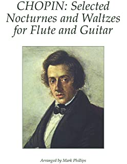 chopin selected nocturnes and waltzes for flute and guitar