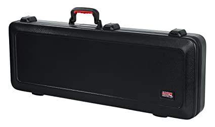 a7c0c6d4bd5 Image Unavailable. Image not available for. Colour: Gator Cases Molded  Flight Case For Strat/Tele Style Electric Guitars With TSA Approved Locking