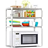 Goolsky 3-Tier Multi-functional Kitchen Storage Shelf Rack Microwave Oven Shelving Unit