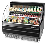 Turbo Tom-40LB Open Front Display Merchandiser, Refrigerated, Low-Profile, Horiz