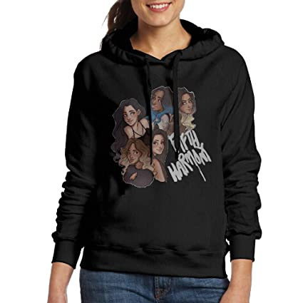 CURBABY SHIRT Fifth Harmony Ladies Pullover Hood Black