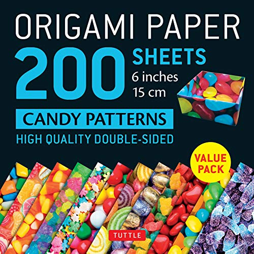 - Origami Paper 200 sheets Candy Patterns 6