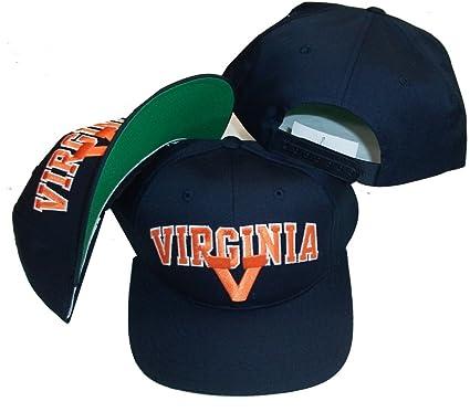 dc6f506740129 Amazon.com   Annco Virginia Cavaliers Navy Vintage Deadstock ...