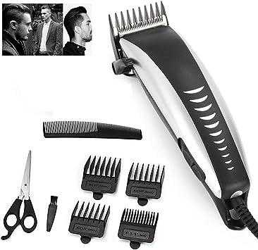 Cortadora de cabello profesional eléctrica para hombres Hogar de poco ruido Recortador de cabello para hombres Afeitadora de barba Herramientas de corte de pelo personal: Amazon.es: Salud y cuidado personal