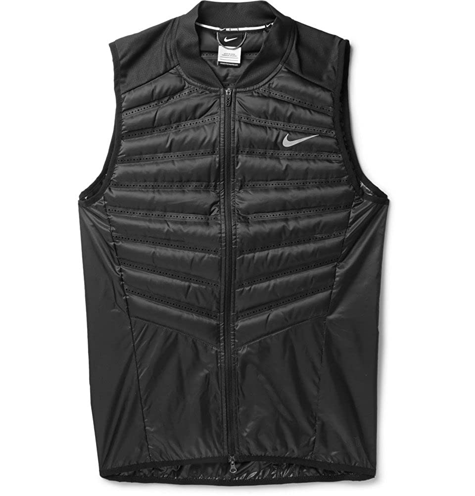 7cb6c345c08a Nike Aeroloft Running Down-Filled Quilted Gilet  Amazon.co.uk  Sports    Outdoors