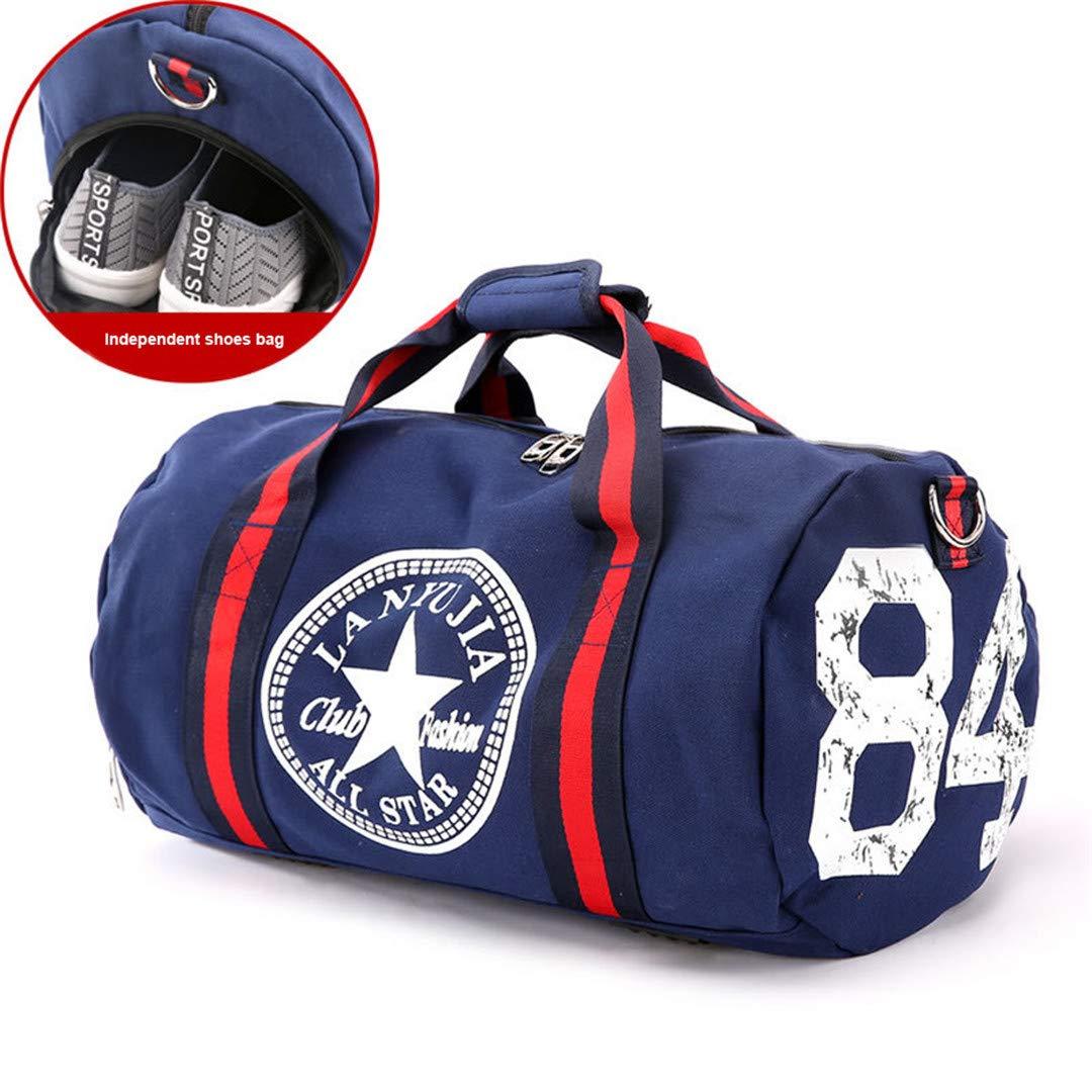 e81749b8ac3d Amazon.com: KHDRVJ Canvas Women's Travel Bags Yoga Gym Bag for ...