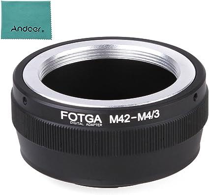 Adaptador de filtros Step Up de 67mm a 77mm Canon Nikon Sony Olympus Pentax M42