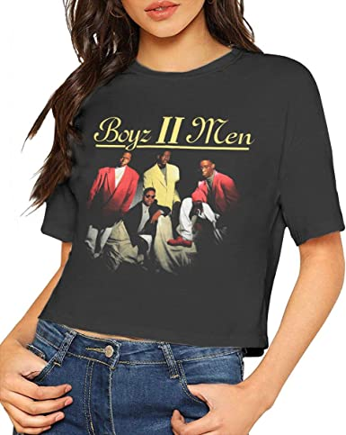 LisaJYancey Boyz Ii Men T Shirt Youth Boy Shirt Round Neck Short Sleeve Tees