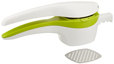 RSVP Potato Ricer and Baby Food Strainer - White/Green