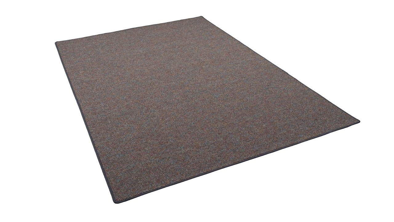 Snapstyle Schlingen Teppich Alma Anthrazit Meliert in 24 Größen