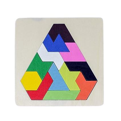 Tootpado Wooden Tetris Jigsaw Puzzle (1TNG244)