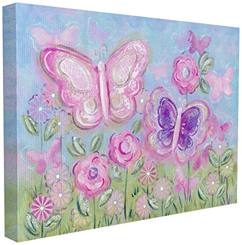 The Kids Room by Stupell Pastel Butterflies in a Garden Wall Plaque, 16 x 20