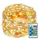 Best Fairy Lights For Christmas Trees - LED Christmas String Lights 99 Feet 300 LEDs Review