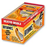 HotHands Insole Foot Warmers - Long Lasting Safe Natural Odorless Air Activated Warmers - Up to 9 Hours of Heat - 16 Pair