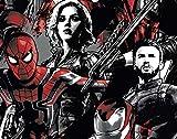 Marvel's Avengers: Infinity War Hardcover Ruled Journal