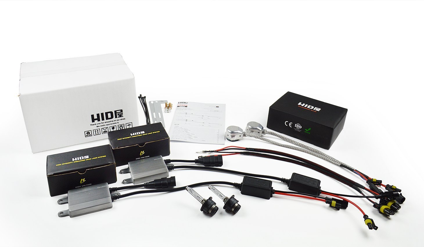 HID屋 D2/D4専用 55W D2Cコンバージョンキット 55W D2S 6000K HIDキット【画像にマウスを合わせますと3つの色(ケルビン数)をお選びできます】(D2S, 6000k) B00CEZ8DGC  6000k D2S