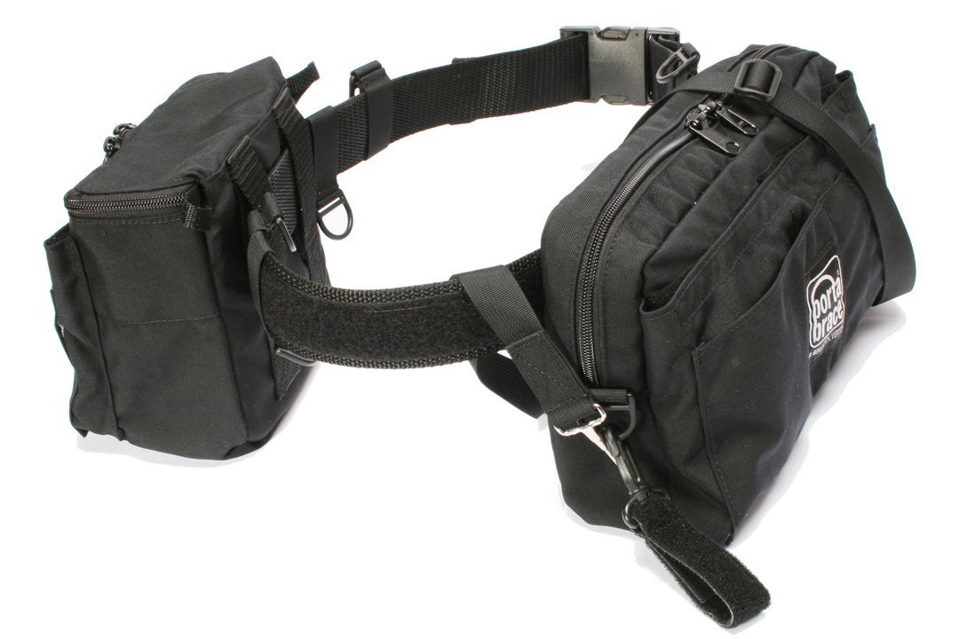 Portabrace BP-2B Belt Pack - Medium (Black) [並行輸入品]   B0160M0HRW