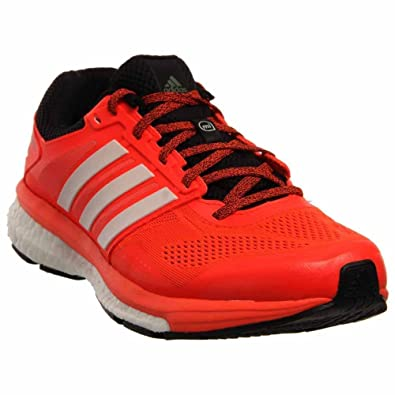 f078985f1bdcd adidas Supernova Glide Boost 7 Mens Running Shoe 12 Solar Red-Black   Amazon.co.uk  Shoes   Bags