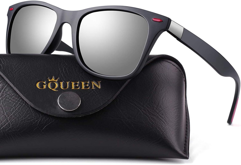 GQUEEN Caminante Retro gafas de sol con protección UV400 MZE4