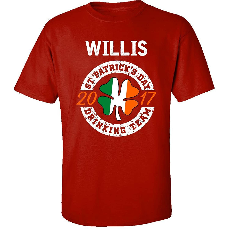 Willis St Patricks Day 2017 Drinking Team Irish - Adult Shirt