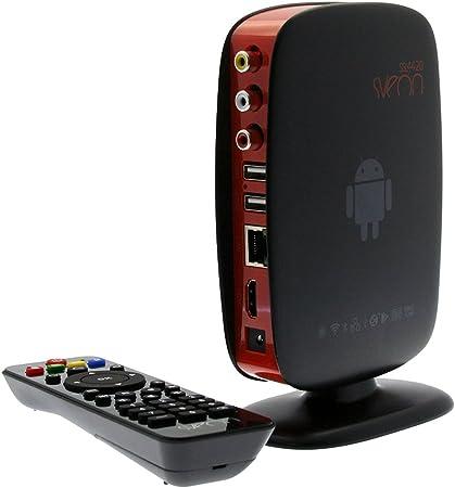 Sveon SSL4420 - TV Box con Android y cuatro núcleos: Amazon.es: Electrónica