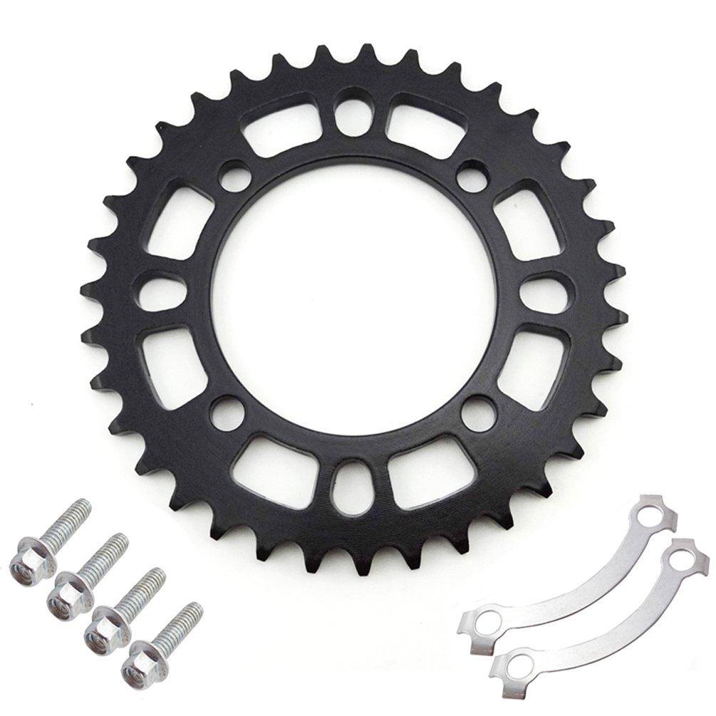 XLJOY 420 76mm 35 Tooth Rear Sprocket for 50cc 70cc 90cc 110cc 125cc 140cc SDG Wheel Pit Dirt Bike