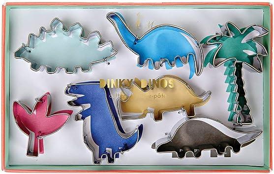 Dinky Dino Cookie Cutter Set - 7 Pack: Amazon.es: Juguetes y juegos