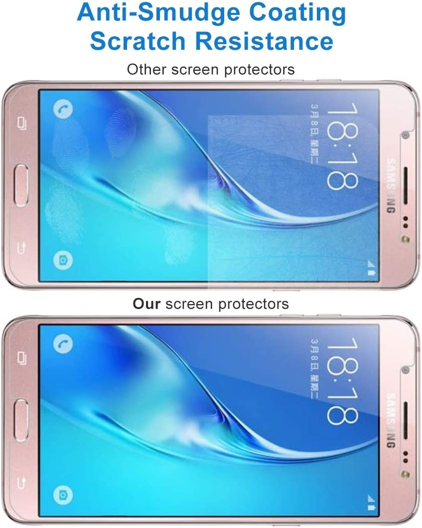 ZHANGYUNSHENG 100 PCS for Galaxy J5 2017 0.3mm 9H Surface Hardness 2.5D Explosion-Proof Tempered Glass Non-Full Screen Film zys // J530 US Version