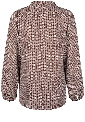 la fée maraboutée - Camisas - cuello mao - Manga Larga - para mujer marrón