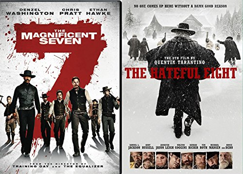 Westerns The Hateful eight DVD & The Magnificent Seven Double Feature Set