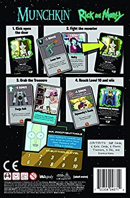 USAopoly Munchkin Rick and Morty Game from PSIQ7