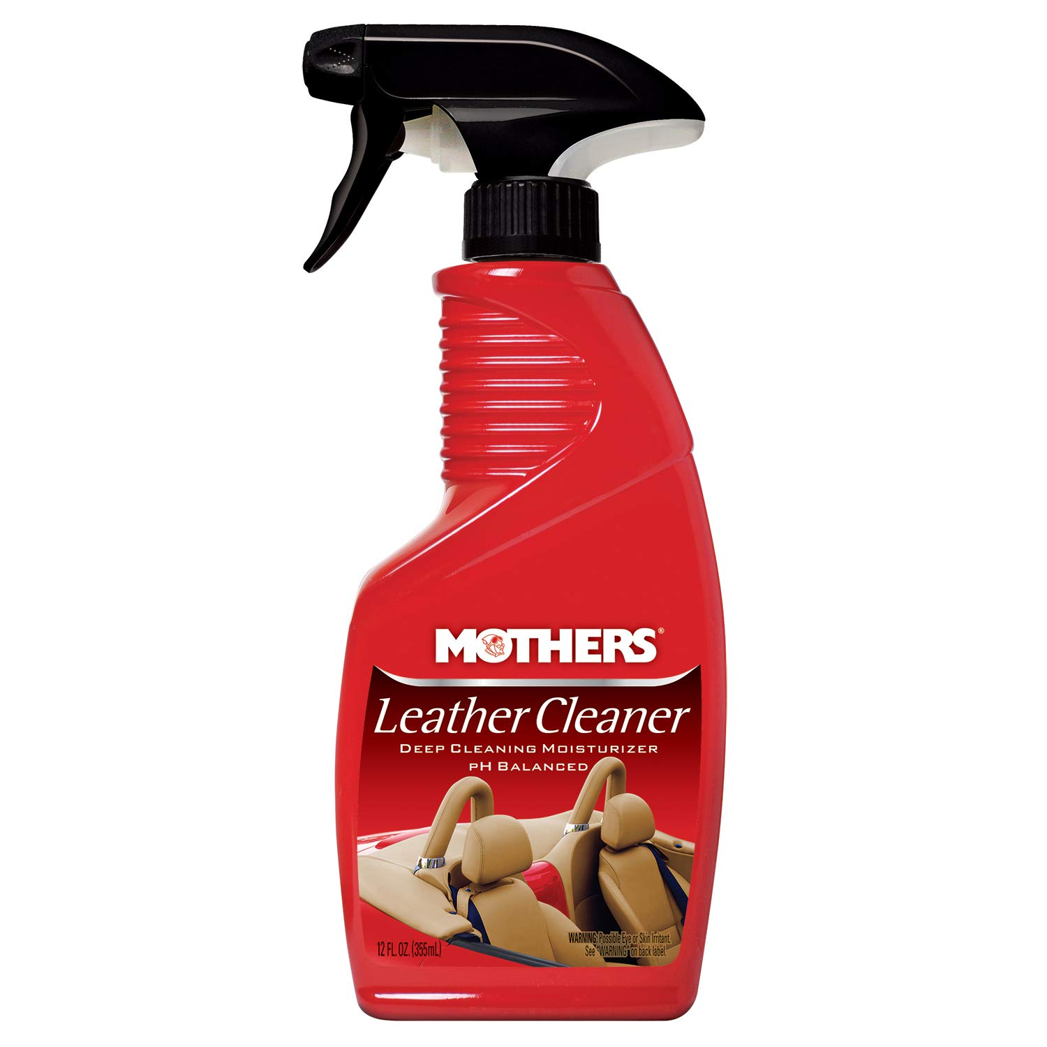 Mothers 06412-6 Leather Cleaner - 12 oz, (Pack of 6) by Mothers (Image #1)