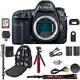 EOS 5D Mark IV Digital SLR Camera Bundle (Body Only) + Professional Accessory Bundle (15 items)
