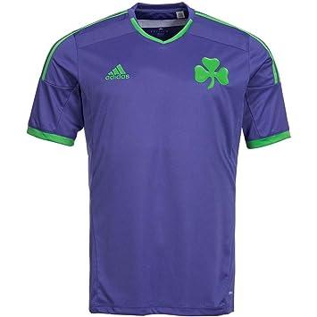 2014-2015 Panathinaikos Adidas Away Football Shirt
