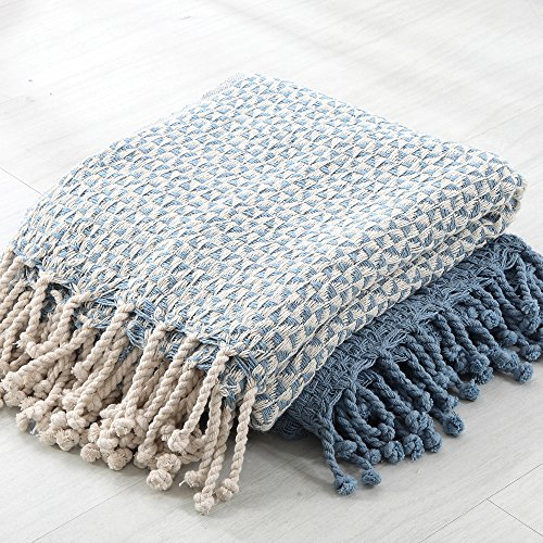 Amrapur Overseas Picasso 40% Cotton 40 Pack Throw Blanket Lavender Cool Luxury Throw Blanket By Amrapur