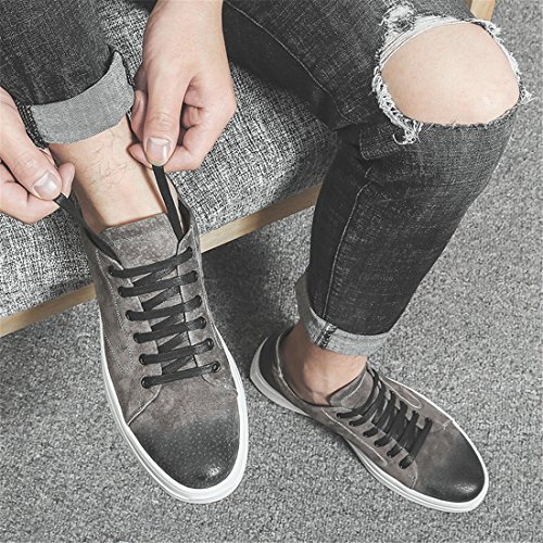 Mens Outdoor Sport Running Walking Shoes Lightweight Casual Sneakers 1862 Grey 25fHG6
