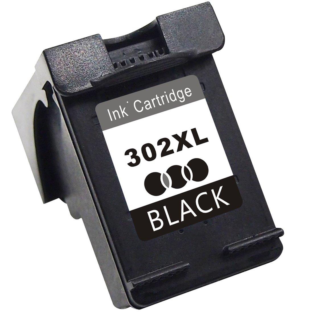 TooTwo 1 Paquete Cartuchos de Tinta Remanufacturados Reemplazar para HP 302XL(F6U67AE F6U68AE) Compatible con HP DeskJet 1110 1115 2130 2132 3630 3632 ...