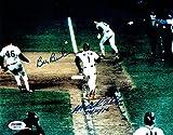 #9: Bill Buckner & Mookie Wilson Signed 10/25/86 Autographed 8x10 Photo PSA/DNA COA