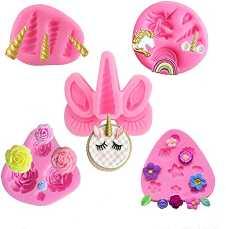 Details about  /Unicorn Horn Silicone Mold Molds Cake Decorating Tools
