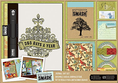 K & Company EK Success Darice Company Smash 365 Journal Gift