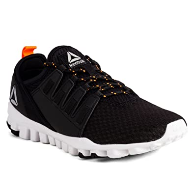 Reebok Men s Identity Flex Xtreme Black Wild Orange Running Shoes-10  UK India 961694147