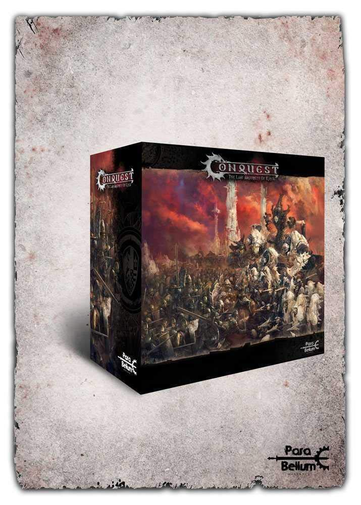 Para Bellum Wargames Conquest: The Last Argument of Kings Tabletop Game Core Box SetFrench Version
