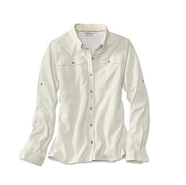 48dfba3b Orvis Women's Open Air Casting Shirt/Woman's Open Air Casting Shirt at  Amazon Women's Clothing store:
