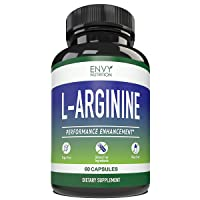 L- ARGININE - Performance Enhancement Supplements for Muscle Growth, Vascularity...